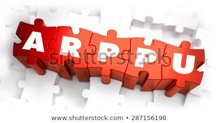 Texto vermelho média por Foto stock © tashatuvango