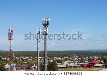 towers · Солнечный · лет · день · gsm - Сток-фото © ironstealth