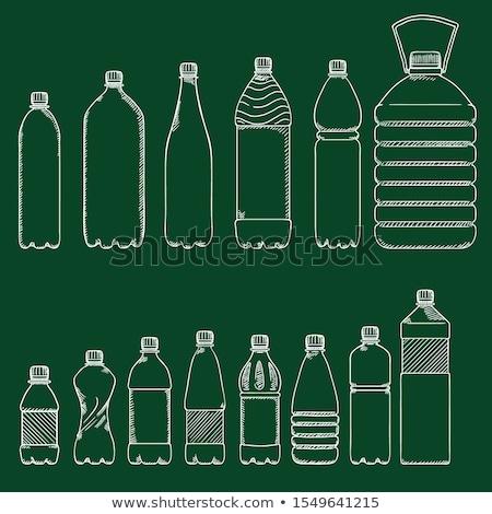 Soda bottle sketch icon Stock photo © RAStudio
