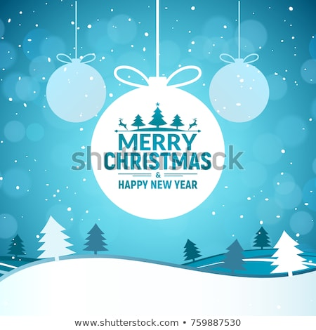 ретро вектора Рождества звездой фары искусства Сток-фото © rommeo79