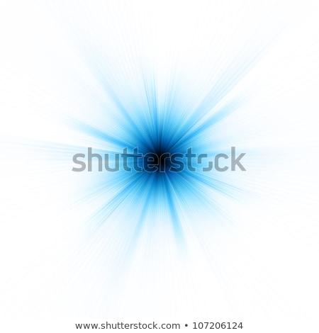 Abstract burst on white, easy edit. EPS 8 Stock photo © beholdereye