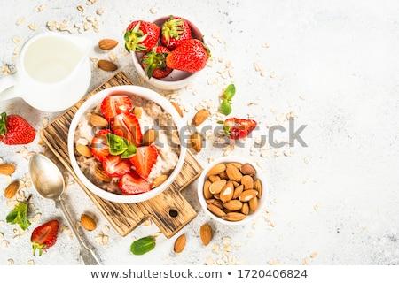 słodkie · śniadanie · opiekany · chleba · masło · miodu - zdjęcia stock © Digifoodstock
