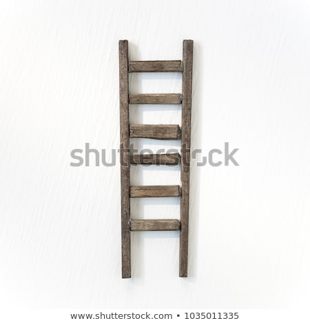 A wooden ladder Stock photo © bluering