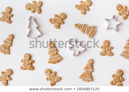 Biscuit illustration blanche alimentaire fond repas Photo stock © bluering