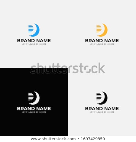 logo shapes and icons of letter d stock photo © cidepix