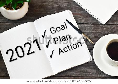 Ideas word on notepad Stock photo © fuzzbones0