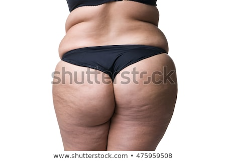 fatty buttocks on white Stock photo © ssuaphoto