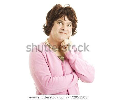 уродливые · свитер · старые · полосатый · нет · название - Сток-фото © lisafx