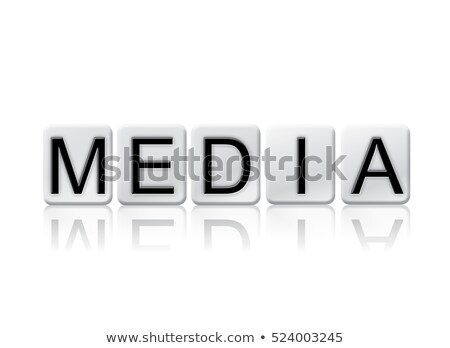 Story Isolated Tiled Letters Concept and Theme Stock photo © enterlinedesign