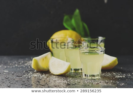 Fresh lemons. Selective focus. Stock photo © Yatsenko