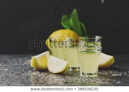Fresh lemons. Selective focus. Сток-фото © Yatsenko
