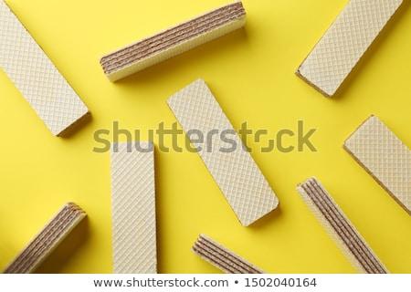 hóstia · biscoitos · perfeito · tanto · café · da · manhã · comida - foto stock © jarp17