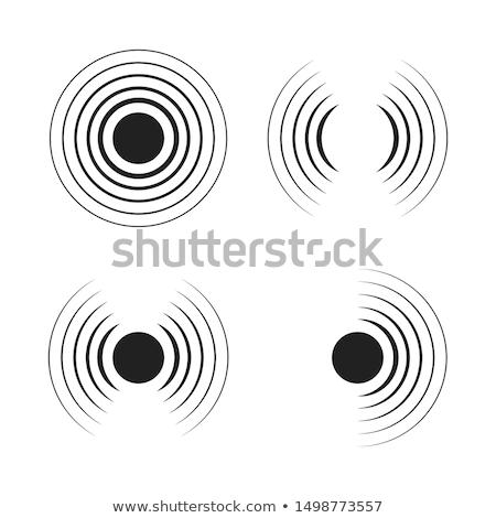 conjunto · ícones · avião · silhueta · helicóptero · isolado - foto stock © ylivdesign