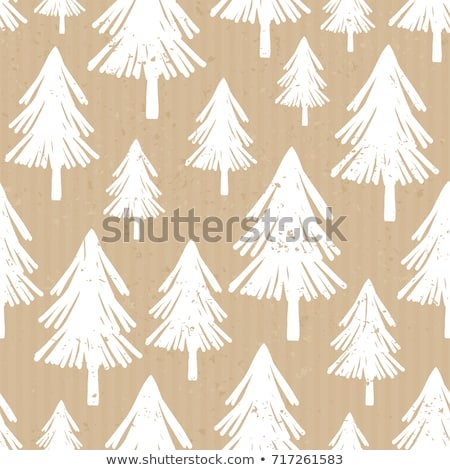 Craft Paper Christmas Pattern Stock photo © ivaleksa