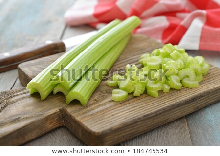 chopped celery stems Stock photo © Digifoodstock