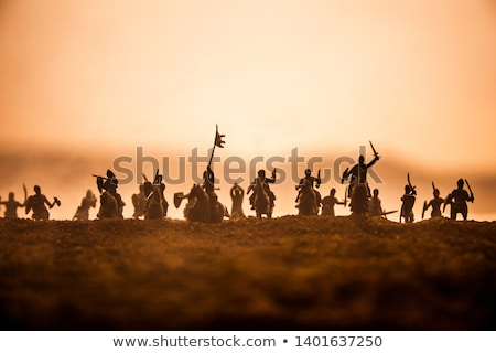Cavalry Stock photo © patsm