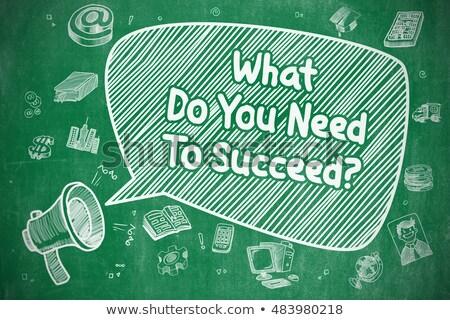 We Need You - Doodle Green Inscription. Business Concept. Stock photo © tashatuvango