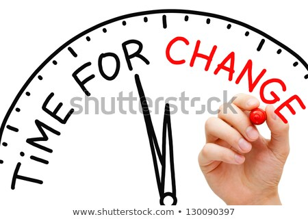 Time For Transformation - Business Concept. Stock photo © tashatuvango