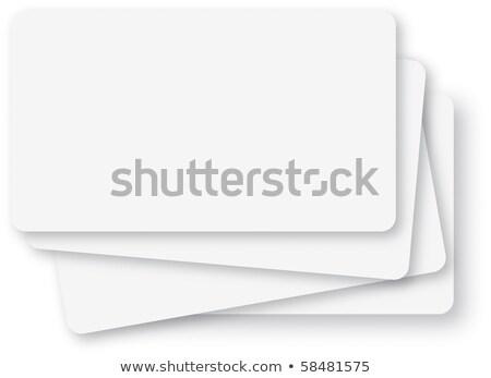 card index business ideas stock photo © tashatuvango