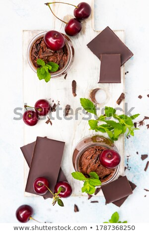 chocolate · coberto · escuro · pó - foto stock © mpessaris