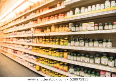 Compras homeopatía medicina alternativa naturales Foto stock © Lightsource