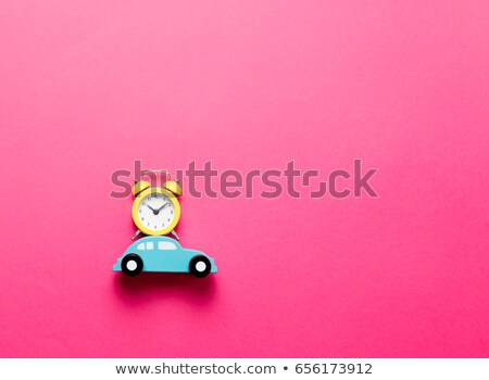 parça · kırmızı · Retro · araba · bağbozumu · oto - stok fotoğraf © ssuaphoto