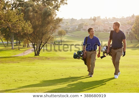 Two men playing golf Stock photo © IS2