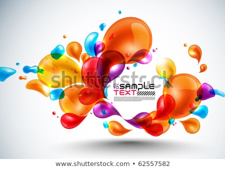 Droplet - Abstract colorful background Stock photo © orson