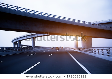 modern concrete bridge stock photo © pedrosala