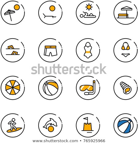 Man and Woman in Swimsuits and Summer Clothes Stock photo © robuart