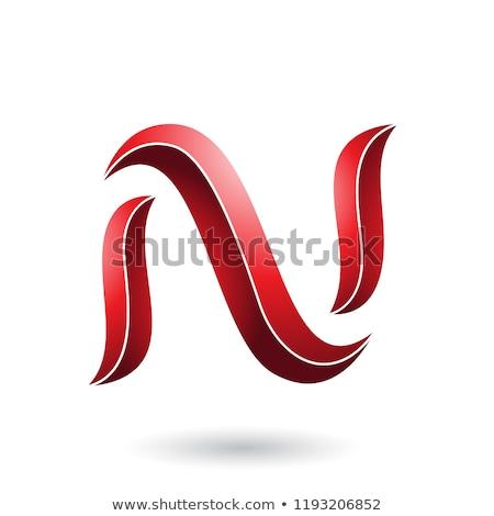 赤 · ヘビ · 手紙 · ベクトル · 実例 - ストックフォト © cidepix