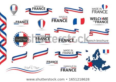 fita · italiano · francês · tricolor · símbolo - foto stock © kurkalukas