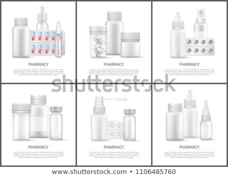 医療 · パターン · シームレス · アイコン · 薬 · テクスチャ - ストックフォト © robuart