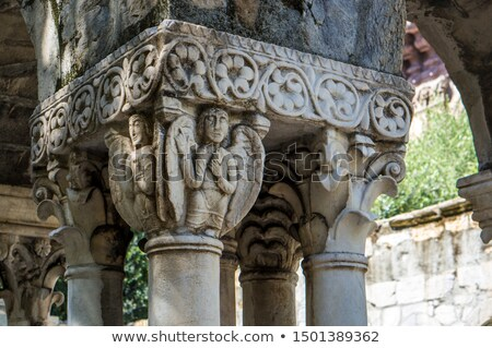 St Andrew's Cloister in Genoa Stock photo © boggy