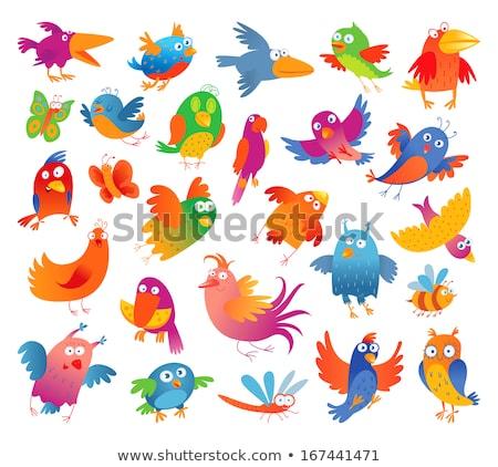 幸せ フェニックス 漫画 実例 鳥 ストックフォト © cthoman