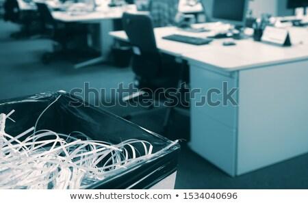 Documento evidência papel segurança lei Foto stock © Zerbor