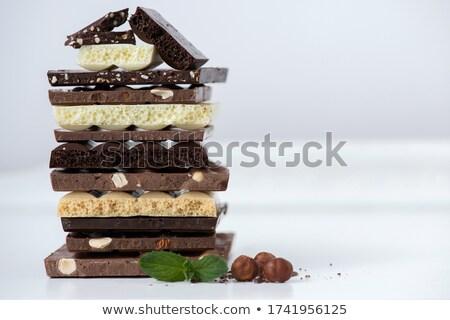 Farklı şeker ahşap gıda grup beyaz Stok fotoğraf © Alex9500