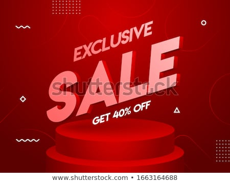 Exclusive Products, Hot Price Reduction Sales Stock photo © robuart