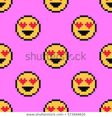 valentines day pixel art Stock photo © vector1st