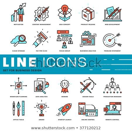 telefon · biztonság · grafikai · tervezés · sablon · vektor · izolált - stock fotó © haris99