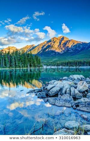Patricia Lake in Jasper National Park Stock photo © benkrut