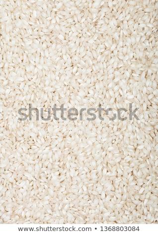 Czerwony puchar surowy organiczny risotto ryżu Zdjęcia stock © DenisMArt