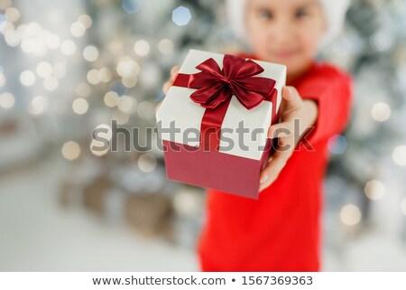 мало · мальчика · празднование · дня · рождения · Hat · Роге - Сток-фото © nyul