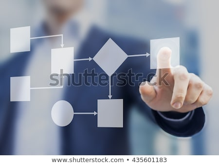 implementing business solution and technologies stock photo © robuart