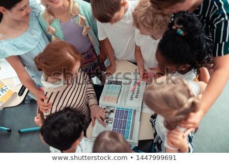 Kobieta zasady uważny dzieci Zdjęcia stock © robuart