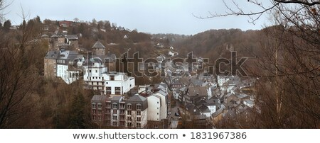 Protestant Church in Monschau, Germany Stock photo © borisb17