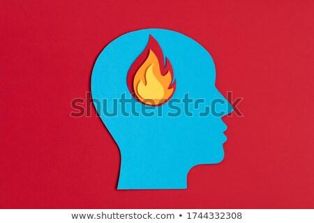 Foto d'archivio: Concept Of Burnout