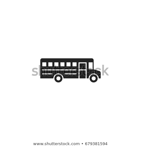 vector school bus icons  Stock photo © freesoulproduction