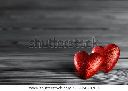 14 kicsi szívek 3d illusztráció izolált fehér Stock fotó © montego