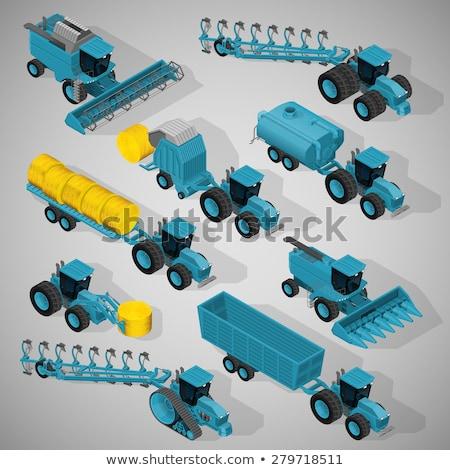 baal · graan · ruimte · vervoer · productie - stockfoto © robuart